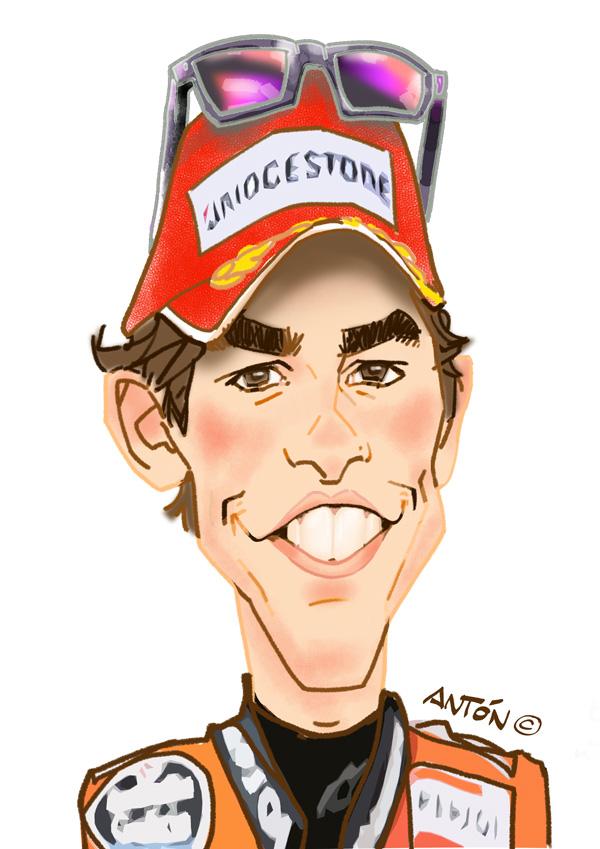 gold digital caricatures anton caricatures